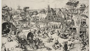 What if the painter Bruegel had had an Instagram account?
