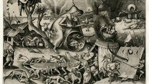 Bruegel's world in black and white