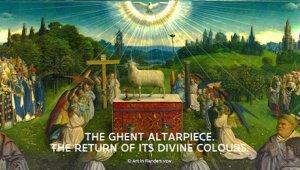 Het Lam Gods: de terugkeer van zijn goddelijke kleuren
