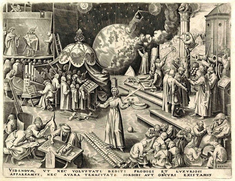 Temperantia by Bruegel