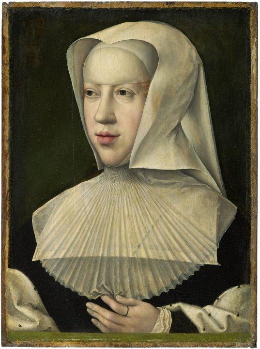 2) 7 MRBAB Portrait de Marguerite d'Autriche Inv 4059 Atelier BVO