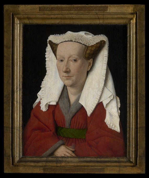 Van Eyck, portret Margaretha van Eyck, Groeninge