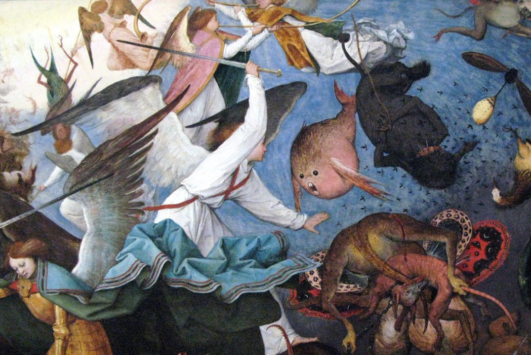 Bruegel, Fall of the Rebel Angels, 1562