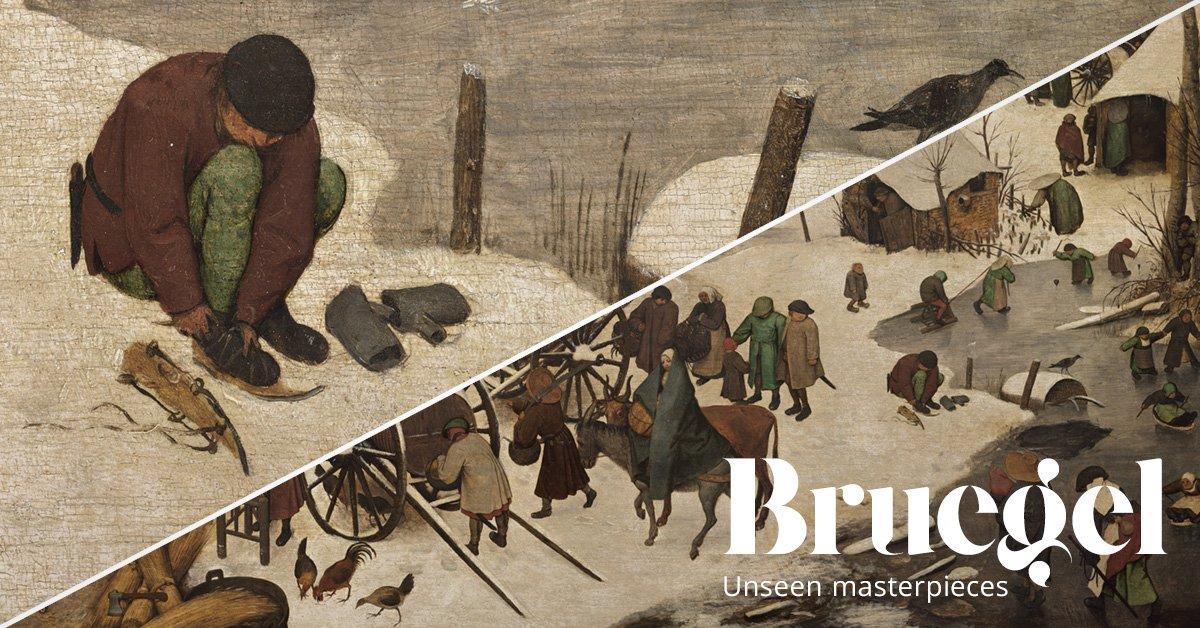 Bruegel, De telling van Bethlehem