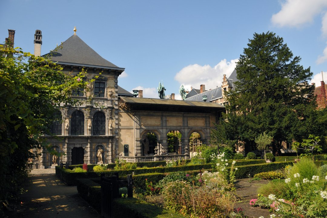 The garden of the Rubens House