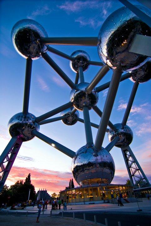 Atomium, Belgiëplein, Brussels