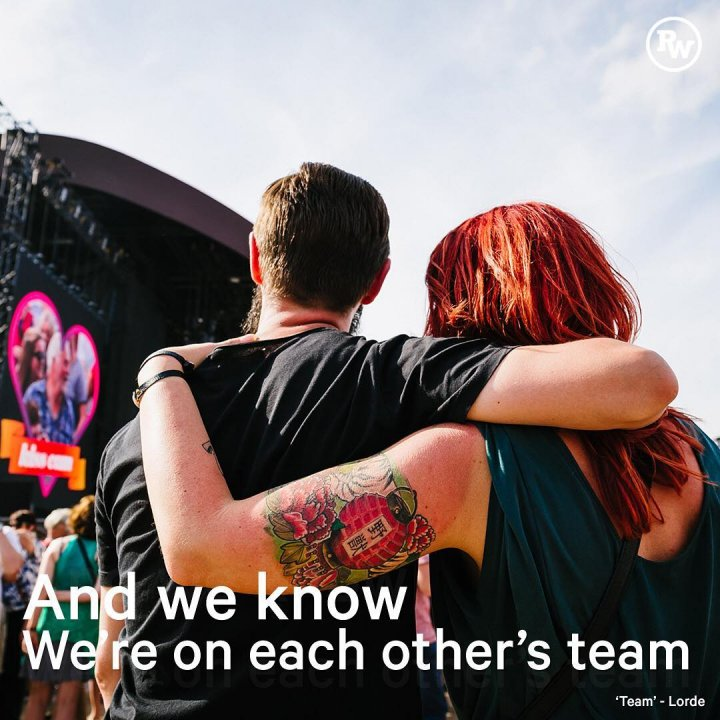 Enjoy Rock Werchter together