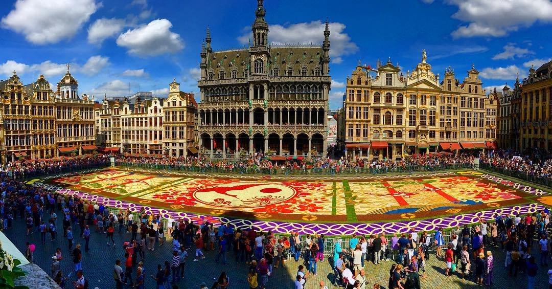 Flower carpet, Grote Markt, Brussels