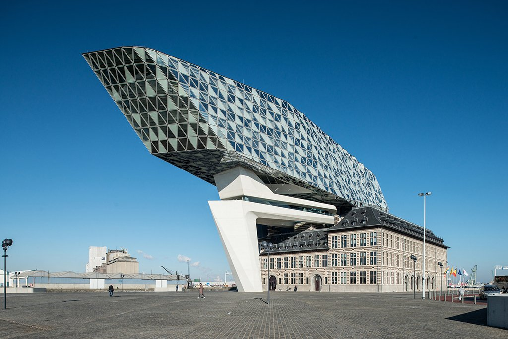 Port House, Zaha Hadid, Entrepotkaai, Antwerp