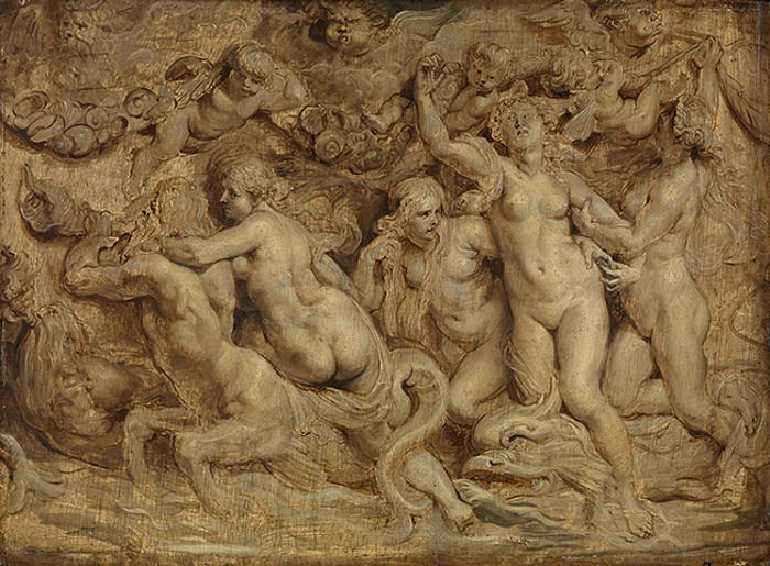 PP Rubens, Triumph of Venus, The Fitzwilliam Museum (Cambridge).