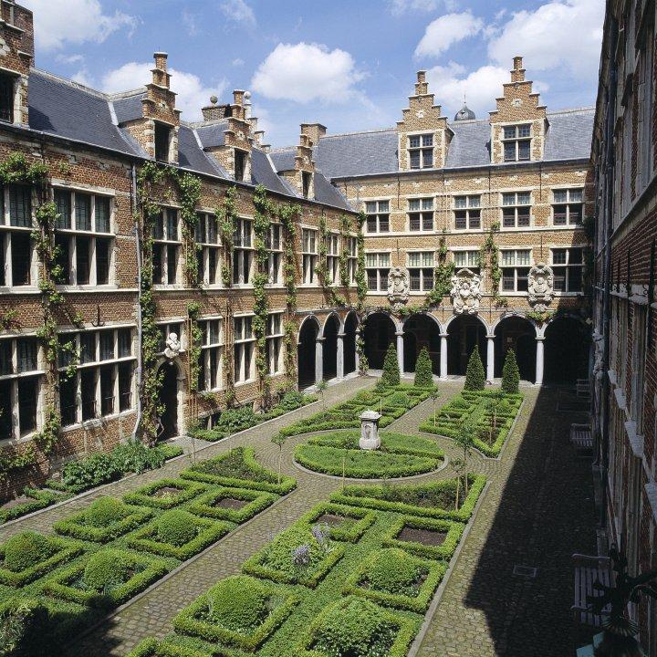 Plantin Moretus Printers, Vrijdagmarkt, Antwerp