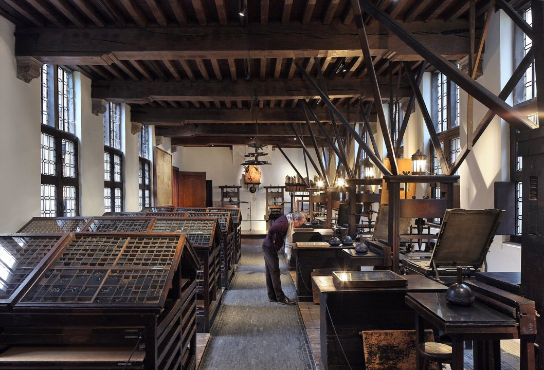 Museum Plantin-Moretus, Friday Market, Antwerp