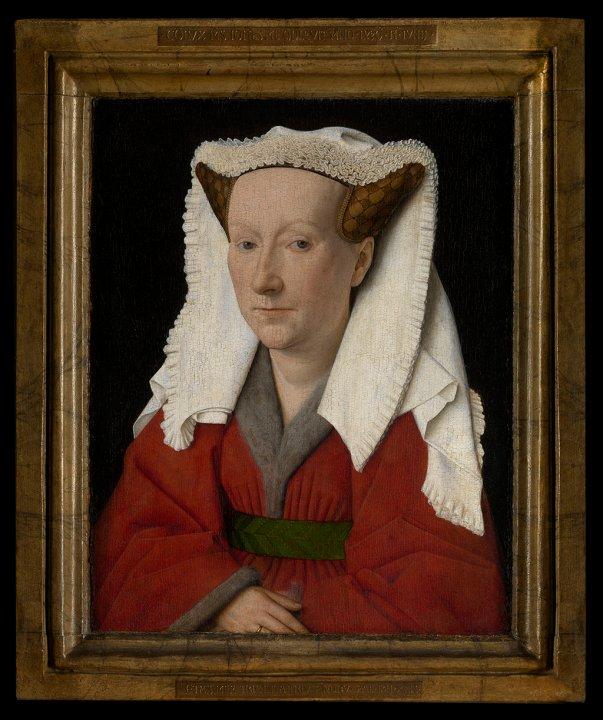 Portrait of Margareta van Eyck Onze - Lieve- Vrouwekathedraal Antwerpen (c) www