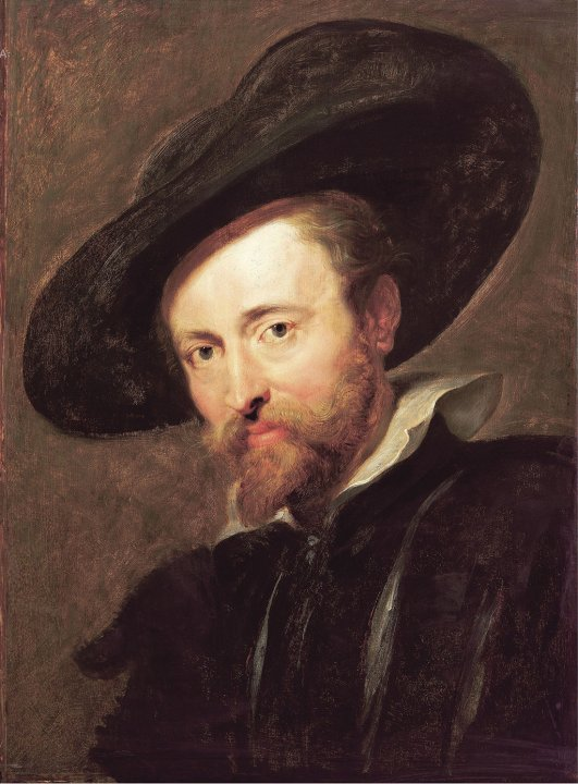 Self-portrait of Rubens