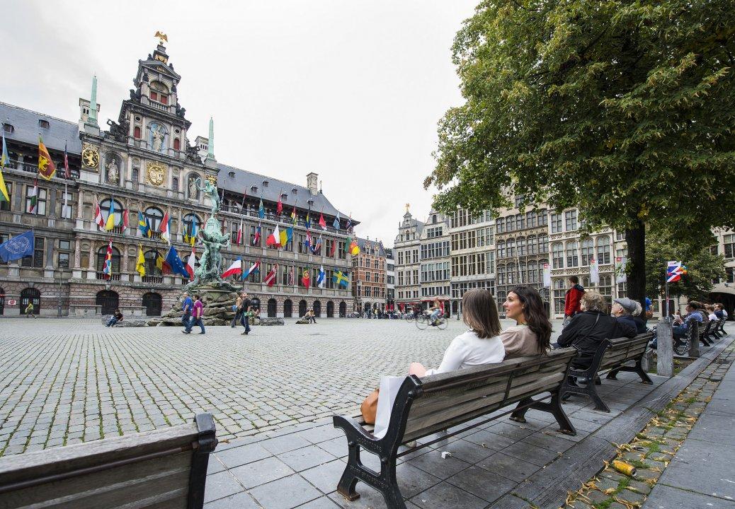 Town hall, Grote Markt, Antwerp