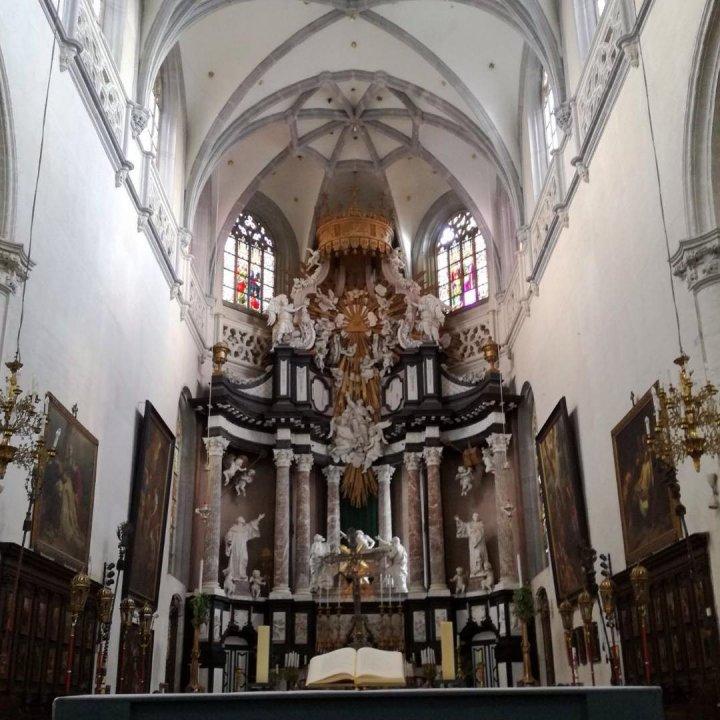 St Andrew's Church, Augustijnenstraat, Antwerp