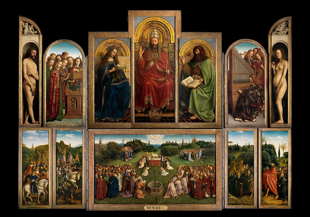 The Ghent Altarpiece (open) Sint-Baafskathedraal Gent (c)www